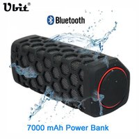 Wholesale Sound Box For Bike - Ubit 10W Sports Outdoor Waterproof Portable Bluetooth Wireless Speakers Bike Sound Box With 7000mA Power Bank Loudspeakers