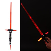 Cosplay Star Wars La Force éveille Kylo Ren Lightsaber avec LightSound épée