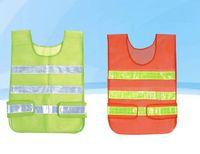 Wholesale design works coats for sale - New design Visibility Reflective Safety Vest Coat Sanitation Vest Traffic Safety warning clothes vest Safety working waistcoat cloth LLFA