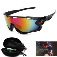 Wholesale Mountain Bike Riding Glasses - Wholesale- Polarized Sports Sunglasses Road Cycling Glasses Mountain Bike Bicycle Riding Fishing Protection UV 400 Goggles Eyewear