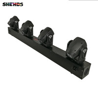 Wholesale new led moving head - New Arrival 4x10W Head LED Beam Moving Head Lighting Bar DJ Lights,SHEHDS Stage Lighting