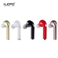 Wholesale Usb Bluetooth Headphones Mic - DHX I9 I9s Mini Bluetooth Earbud Single Wireless Headphones Headset with Mic Stereo bluetooth Earphone for Android Iphone Better HBQ I7
