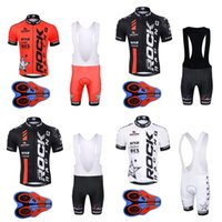 Wholesale Women Bike Suit - Men Pro Cycling Jersey MTB Bike Sports wear Rock racing bicycle clothes Ropa ciclismo summer quick dry Cycling Clothing Suit G0602