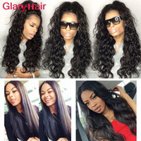Wholesale long straight hair weave 22 inch online - Glary New Arrival Lady s Long Cheap Brazilian Hair Bundles Curly Virgin Hair Extensions Straight Water Wave Kinky Curly Body Wave Hair Weave