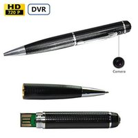 Surveillance Home Security Stylo d'enregistrement vidéo avec 2.0 MP HD 1280x720P Hidden Spy Recorder Camera Mini DV