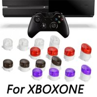 Wholesale Xbox Controller Mod Kit - Custom Bullet ABXY Key Replacement Button Buttons Mod Kit for Microsoft Xbox One Wireless Controller Mod Buttons DHL FEDEX EMS FREE SHIPPING