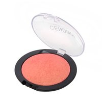 Оптово-марка красоты 4colors Bronzer Glitter Contour Blush Powder Highlighter Makeup Mineralize Face Blusher