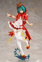Wholesale Hatsune Miku Project Diva Pvc - 20151126 Free Shipping Anime Hatsune Miku Red Riding Hood Project DIVA 2nd PVC Action Figure Collectible Model Toy 23cm