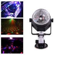 Wholesale Car Led Lights Wholesale Usa - Mini Led Magic Disco Ball Lights for Car with USB Cable Charger RGB Multi Colored Stage lighting Equipment for Family Birthday Party