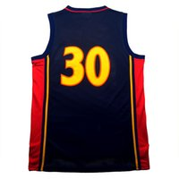 Wholesale Cheap Men S Gold - Throwback #30 Basketball jerseys 100% Stitched #30 jersey cheap High quality 30 jersey embroidery Logos free shipping