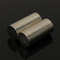 Wholesale Neodymium Disc 1mm - 50Pcs Lot 10mm x 1mm Round Magnets Neodymium Rare Earth Permenent Magnets Mini Small Circular Disc 10 x 1mm Magnet