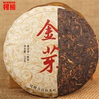 Wholesale healthy loss - C-PE028 Promotions! 100g grams China Yunnan Pu'er tea cooked tea, green shoots gold green food healthy weight loss diet