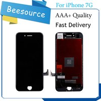 Wholesale Black Iphone Lcd Oem - 2017 Best AAA+ Quality For Iphone 7 OEM LCD Display With Touch Screen Digitizer Assembly Black And White Free DHL Shipping