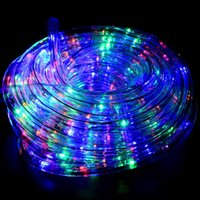 Wholesale Taiwan Ac Led - RGB Water-proof LED Strings Taiwan Chips IP65 220V 24 LEDS M LED Light LED Strings with Anti-oxgen Tube