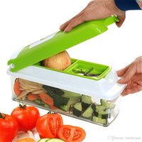 Wholesale Kitchen Set of Multi functional Vegetable Slicer Fruit Slicer Creative Multi function Kitchen Manual Cutting Tools Stainless Steel