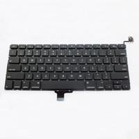 macbook pro unibody großhandel-NEUE US-Version Tastatur für Apple Macbook Pro 13