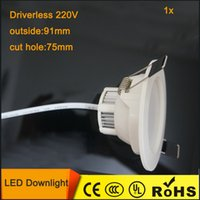 outdoor led downlights - w Driverless LED Ceiling Downlights Light smd2835 V LED Downlight Lamp for Home Outdoor