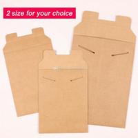 Wholesale kraft paper mini envelopes for sale - Group buy nice kraft paper document bag cat shaped Kit file bags envelope Kraft paper bags size for your choice mini order