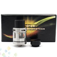 Wholesale Ring Force - Authentic Air Force One RDA Rebuildable Dripping Atomizer Huge Vape With Wide Bore Drip Tips Top AFC Ring fit 510 Mod DHL Free