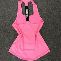Donne Yoga Top Gym Sport Maglia Gilet senza maniche Maglie Tank Top Vest Fitness Running Abbigliamento Tight Top Tank Top Dry 2501095