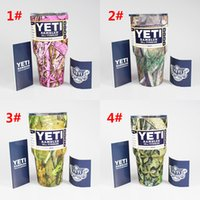 Wholesale Camouflage Stockings - In Stock Camo Yeti 30 oz Pink Camouflage Mugs Yeti Rambler Tumbler 4 Colors Rambler Cups Yeti Coolers Cup Stainless Steel