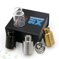 Wholesale E Cigarette Caps - Newest Kennedy Trickster 24mm RDA Atomizer 2 Post Adjust Airflow Cap with 6 Holes 3 Colors Kenndy 24X E Cigarette DHL Free