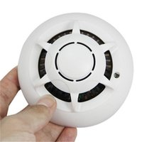 Wholesale Audio Access - 32GB 1080P WiFi Camera Smoke Detector Nanny Cam with Motion Activated Video and Audio Recording for Home Security & Surveillance