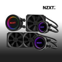 Wholesale Water Cpu - NZXT Kraken X42 X52 X62 CPU Liquid Cooler Cooling Fan Water Cooler RGB PWM LGA2011-V3 1151 115X FM2+ FM2 FM1 AM3+ AM3 AM2+