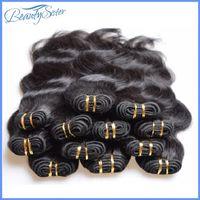 tremper colorant cheveux trame achat en gros de-En gros pas cher brésilienne vague de corps faisceaux de cheveux humains tisse 1kg 20 pièces beaucoup couleur naturelle noire 5a qualité qualité 50g / pcs