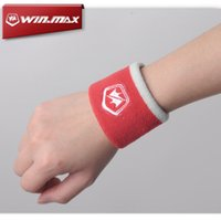 Wholesale Wrist Support For Basketball - WINMAX Wrist Sweat Band New Breathable & Elastic Cotton Towel Wrist Sweat Band for Tennis Badminton Basketball Running Hand Sports Sweatband