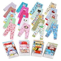 Wholesale Busha Baby Cartoon Animals - 5pcs lot Popular Baby PP Pants leggings Clothing Baby Girls Boys cartoon Leggings Busha PP Pants Wear Children kids Tights trouser wholesale