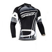 Wholesale Orbea Long Sleeve Cycling Jerseys - Ropa de Ciclismo bicycle clothes Orbea team bike jersey Cycling Clothing long sleeve mtb Pro men's cycling jerseys D0740