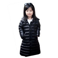 Wholesale Warm Baby Snowsuit - Baby White Down Coat Russian Winter Colorful Super Warm Light White Duck Down Jacket Girls Outwear Coats Kids Outdoor Snowsuit Waterproof