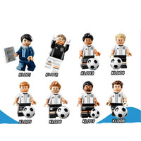 Wholesale Old Collectible Toys - DHL 60Sets Marvel German Football Team Full Set of Collectible figures Mario Gotze Coach Max Kruse Toys For Children KL9001