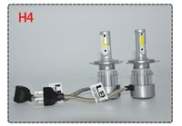 C6 2pcs Car Headlights 7600LM Led Ampoules H1 H3 H7 9005 9006 H11 H4 H13 9004 9007 Automobiles Phare 6000K Fog Lamps