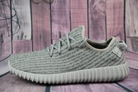 Wholesale Cheap Streetwear - 2017 Cheap Wholesale Boots 350 Shoes 350 Fashion Women and Men 350 Boost low Free Streetwear Running Sports Shoes Dropshipping