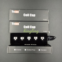 Wholesale Wholesale Caps Original - Original Yocan Evolve Coil Caps & Yocan Evolve Plus Coil Caps & Yocan Torch Coil Caps Free Shipping
