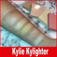 Wholesale Strawberry Candy - Kylighter Kylie Highlighters Kylie Cosmetics Strawberry Shortcake Candy Cream Salted Caramel Banana Split Kylighter French Vanilla DHL