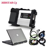 Wholesale Mb Star Diagnosis System - 2017.07 MB Star C5 with HDD and Laptop D630 for cars Diagnosis C5 SD Connect Support Wire Wireless Connection free ship