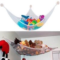 Wholesale toy hammocks wholesale - Wholesale-Toy Hammock 47'' 32'' 6' JUMBO TOY HAMMOCK Net Organizer Stuffed Animals Bathroom Storage Net Free Shipping