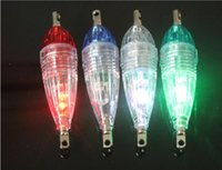 Wholesale Head Lamps Fishing - Lure fish LED single head blue fish lamp underwater