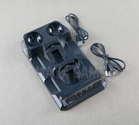зарядное устройство для док-станции оптовых-4 в 1 быстрое зарядное устройство двойной зарядки док-станция порт базы для PS4 беспроводной контроллер Bluetooth для L / R PS Move Controller
