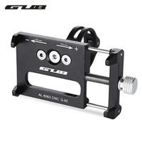 Wholesale Gub Bike - GUB G - 85 Aluminum Alloy MTB Bicycle Phone Holder Support GPS For Bike Handlebar Cycling Accessories Bike Road Accessories +B