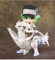 Wholesale Nendoroid Wholesale - Hot Sale 10cm Nendoroid Monsters N Reshiram Pokémon Pocket Monsters Pikachu Q Version Boxed PVC Action Figure Collectible Model Toy 088
