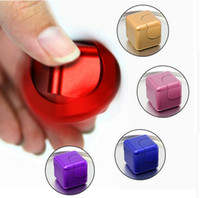 Wholesale Wholesale Cubic Fun - Deform Fidget Spinner Cube Gyro Fun Gift Relief Anxiety Anti-stress Figet Cubic Spinners Spiner Speaker Toys For Adults Children