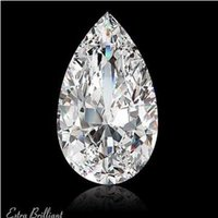 Wholesale 5 D IF Ideal Pol Pear Shape GIA Certified Diamond x9 x6 mm