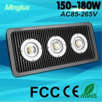 180W Intergrated COB Floodlights vivienda de aluminio luces de inundación LED 18000lm Smart IC conductor al aire libre proyecto de la lámpara impermeable 110V 220V 240V