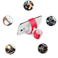 держатель сотового телефона с воздушным вентилятором оптовых-Универсальный автомобильный держатель для мобильного телефона для мобильного телефона Samsung Galaxy A7 / E7 / Note5