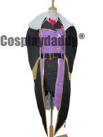 Wholesale Women Nu - Code Geass Villetta Nu Cosplay Costume Suit Cloak