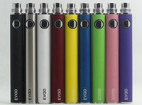 Wholesale Ego Kit Series - EVOD Battery for Electronic Cigarette 650mah 900mah 1100mah fit all series eGo Kit CE4 CE5 MT3 from w1205549